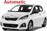 Peugeot 108 a/c 5 door  4 passenger Automatic or Similar Group N
