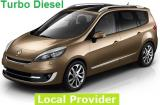 Renault Grand Scenic Turbo Diesel a/c 7 passenger Minivan Manual